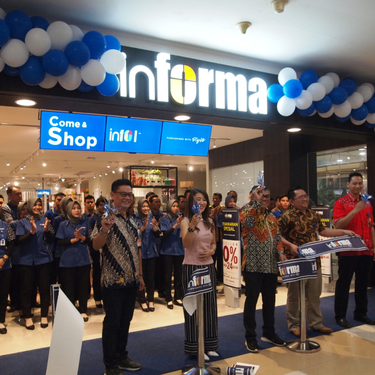 Opening Informa Pacific Mall Tegal