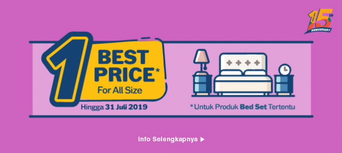 Informa One Best Price Bedset