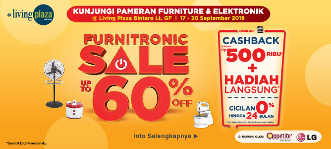 Pameran Furnitronik LP Bintaro