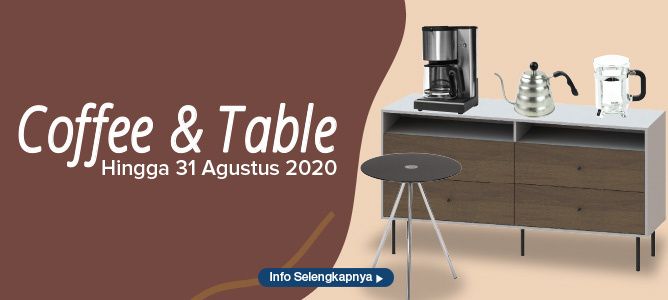 Promo Coffee and Table