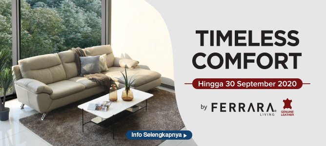 Timeless Comfort by Ferrara