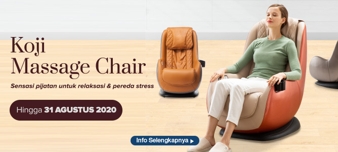 Promo Koji Massage Chair dari Informa