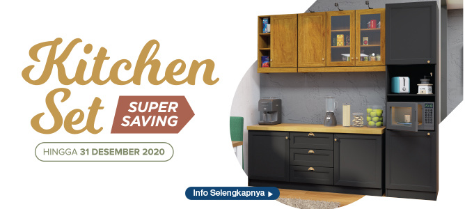 Kitchen Set Super Saving