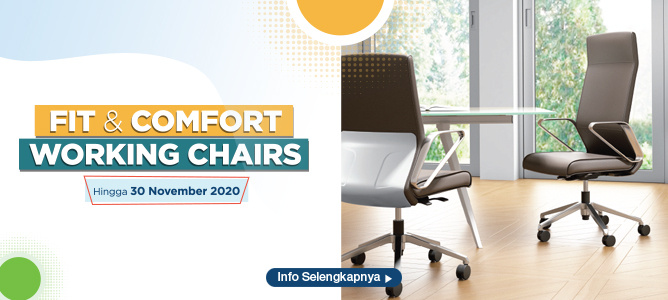 Informa Fit and Comfort Working Chair
