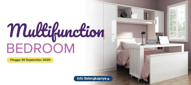 Promo Multifunction Bedroom