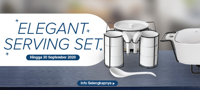 Promo Elegant Serving Set