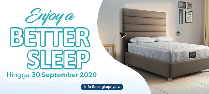 Promo Enjoy a Better Sleep