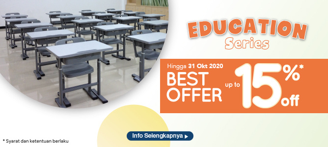 Education Series Best Offer up to 15%