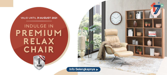 INDULGE IN PREMIUM RELAX CHAIR