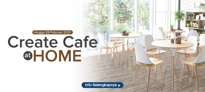 create cafe at home