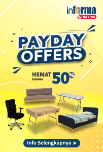 "Informa Online ""Payday Offers"" periode 25 Feb - 2 Mar 2021"