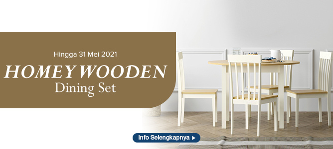 Homey Wooden Dining Set