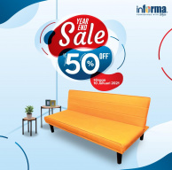 Informa Year End Sale! Nikmati Promo Spesial up to 50% Off