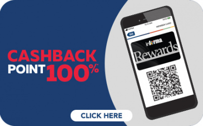 Cashback 100 Point WOW SALE 3
