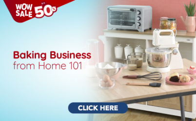 Wow Sale 2 Baking Business from Home 101